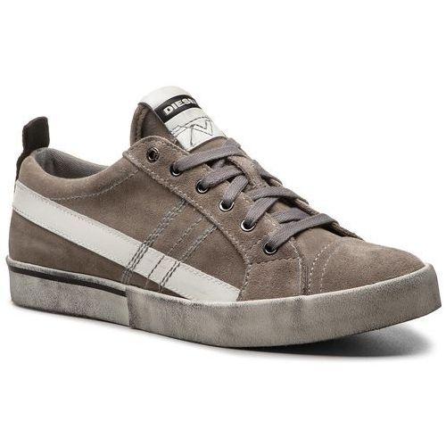Sneakersy - d-velows low lace y01755 p1834 t8066 elephant skin, Diesel, 42-46