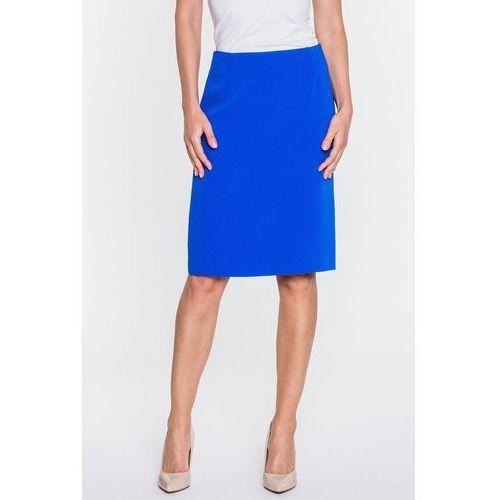 Niebieska spódnica ołówkowa - Metafora, 1 rozmiar