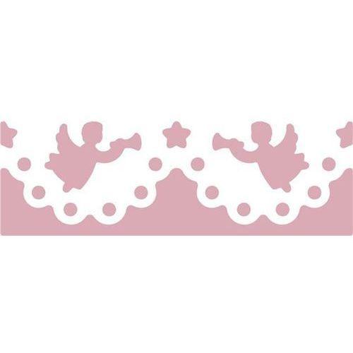 Dziurkacz ozdobny brzegowy  jcdz-607-102/4,5cm - anioły marki Dalprint