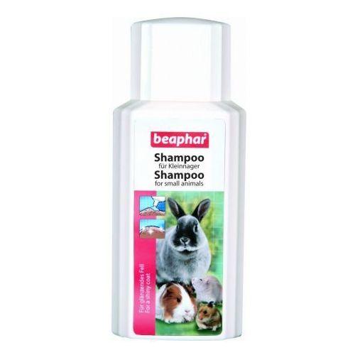 Beaphar szampon dla małych zwierząt: królików, świnek morskich, chomików i szczurów. 200ml