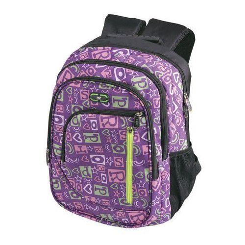 Plecak szkolno-sportowy SPOKEY 836111 Fioletowy (5901180361118)