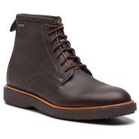 Kozaki CLARKS - Modur Hi Gtx GORE-TEX 261355597 Dark Brown Leather, kolor brązowy
