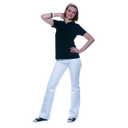 Koszulka damska typu polo, rozmiar xxl, granatowa | , leonie marki Karlowsky