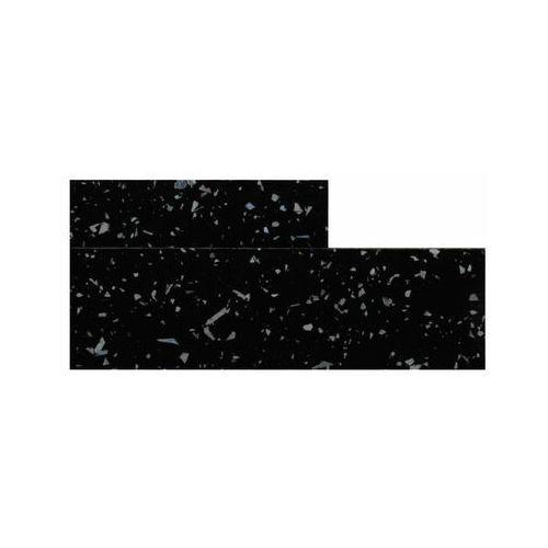 Biuro styl Obrzeże do blatu z klejem 28 mm black galaxy 033s