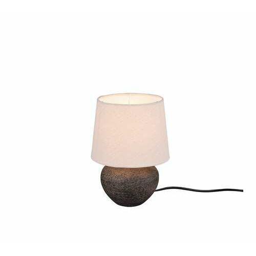 Trio rl lou r50961844 lampa stołowa lampka 1x40w e14 brązowa/beżowa (4017807469790)