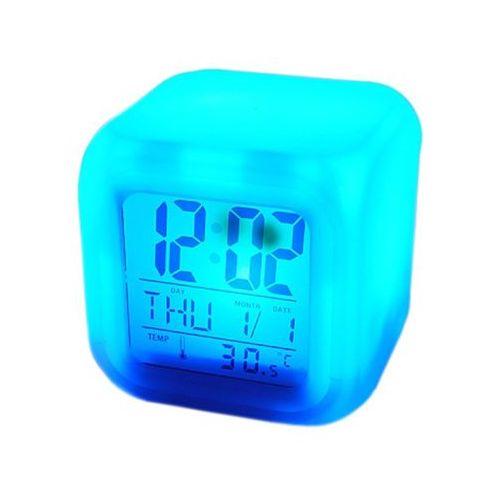 Import Budzik kameleon. zegarek z kalendarzem i termometrem (5902020208792)