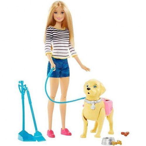 Mattel Barbie spacer z pieskiem czyścioszkiem izimarket.pl