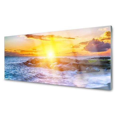 Obraz akrylowy zachód słońca morze wybrzeże marki Tulup.pl