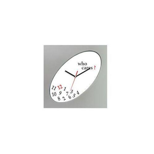 Zegar kwadratowy elipsa srebrny who cares?, ATE2319SWC