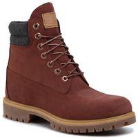 Trapery - premium 6 in waterproof boot tb0a1uvxv171 rust nubuck, Timberland, 40-46