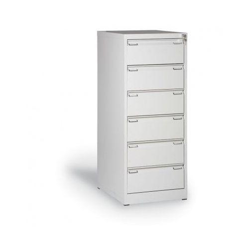 Alfa 3 Metalowa szafa kartotekowa a5, 6 szuflad