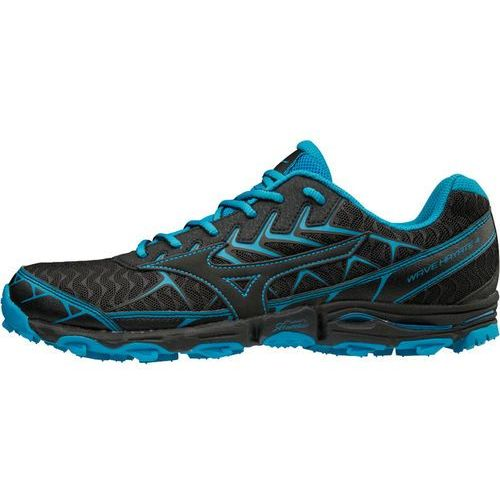 wave hayate 4 buty do biegania mężczyźni niebieski/czarny uk 8,5   eu 42,5 2018 buty szosowe marki Mizuno