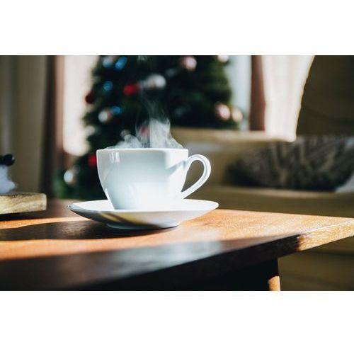 Fototapeta na ścianę parująca filiżanka kawy fp 4342 marki Wally - piękno dekoracji