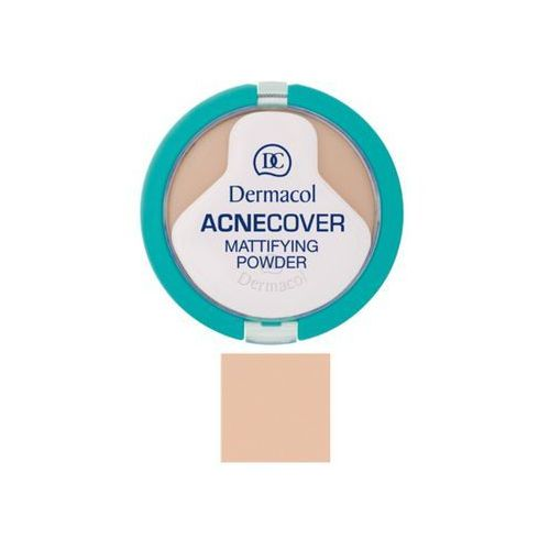 acnecover mattifying powder | matujący puder do cery problematycznej shell 02 11g marki Dermacol