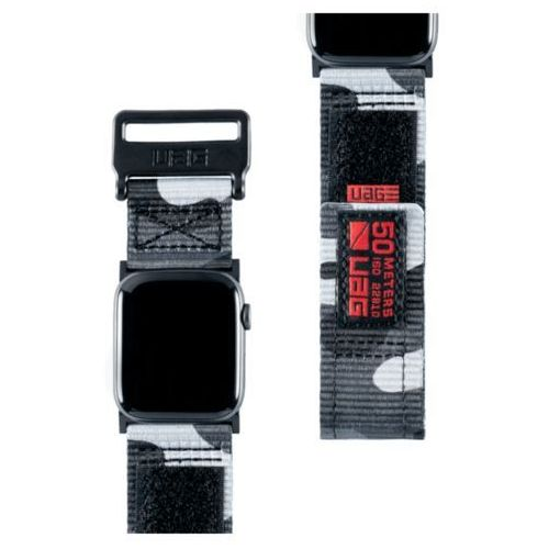UAG Active Strap - materiałowy pasek do Apple Watch 44/42 (midnight camo)