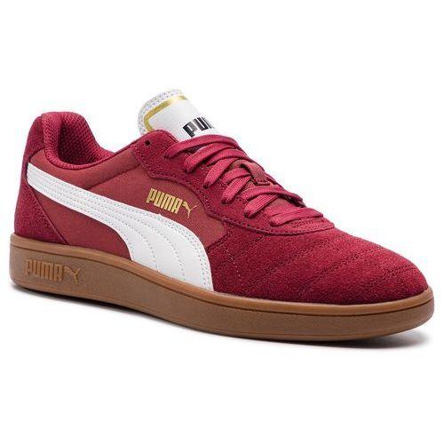 Sneakersy PUMA - Astro Kick 369115 05 Cordovan/Puma White, kolor czerwony