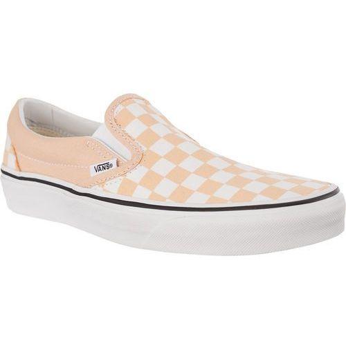 Vans Trampki classic slip-on u77 checkerboard bleached apricot/true white