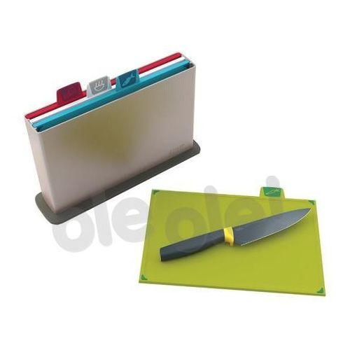 Zestaw 4-ech desek Index Joseph Joseph + nóż gratis