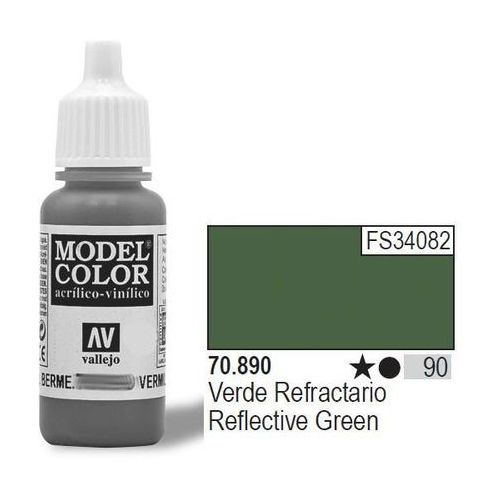VALLEJO Farba Nr90 Refle ctive Green 17mlMatt
