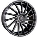 Diewe wheels briosa platins einteilig 8.00 x 18 et 43