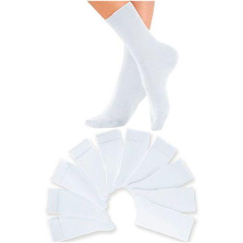 Skarpetki H.I.S (10 par) bonprix biały, kolor biały