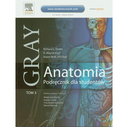 Anatomia Gray. Podręcznik dla studentów. Tom 3 (anatomia ośrodkowego układu nerwowego) (2010)