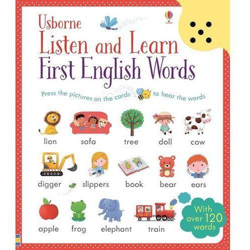 Listen and Learn First English Words, oprawa twarda