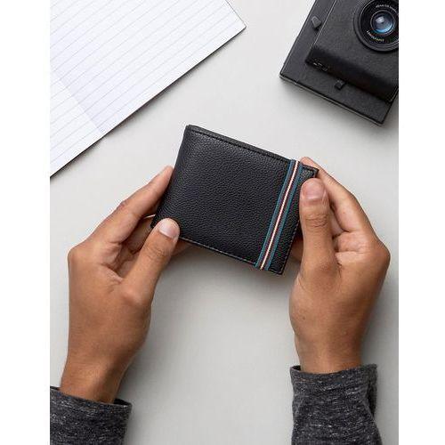New Look Wallet With Elastic Strap In Black - Black