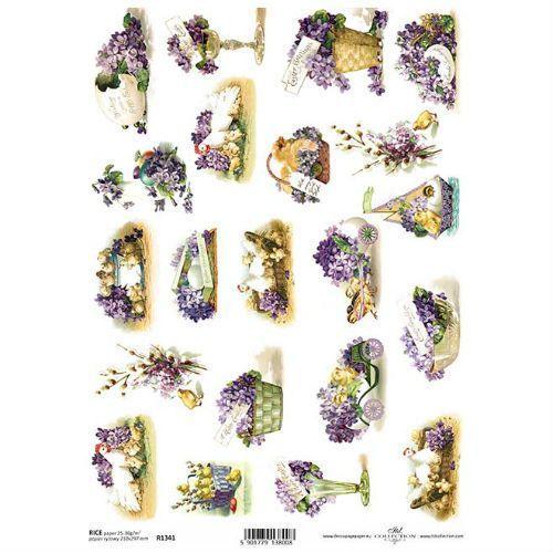 Papier ryżowy 297x210 mm - wielkanocne obrazki