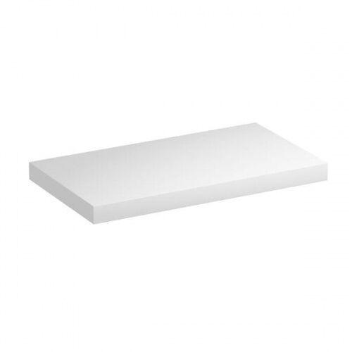 Ravak blat podumywalkowy 80x55x7 cm prosty, kolor biały x000000839 (8592626022013)