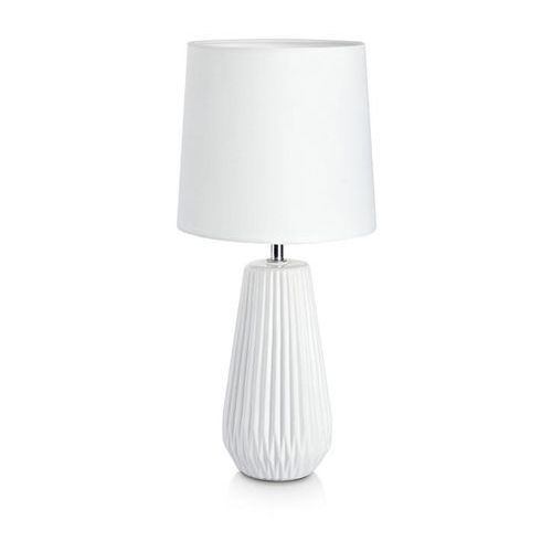 Markslojd Lampa lampka oprawa stołowa nicci 1x40w e14 biała 106623 >>> rabatujemy do 20% każde zamówienie!!! (7330024564770)