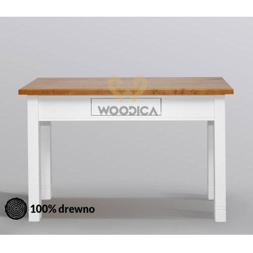 Sekretarzyk/konsola/stolik nicea 21 dębowy marki Woodica