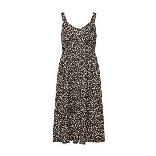 NEW LOOK Letnia sukienka czarny / biały, kolor biały