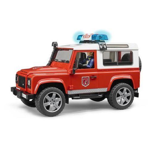 strażacki land rover defender, 1:16, 02596 marki Bruder