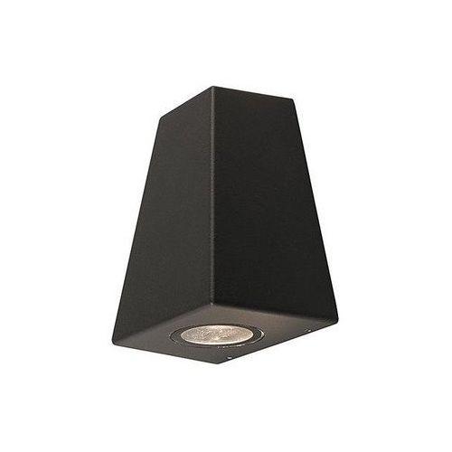Kinkiet Nowodvorski Lamar 9553 lampa ścienna ogrodowa 2X10W GU10 IP54 grafit, 9553