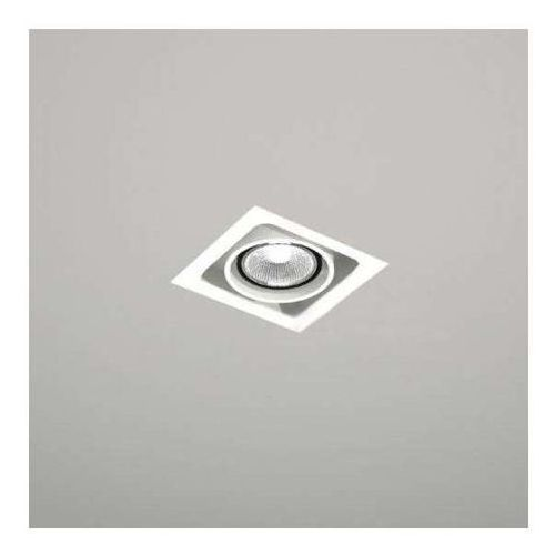 Spot lampa sufitowa ebino 3304/gu5.3/bi podtynkowa oprawa metalowe oczko wpust biały marki Shilo