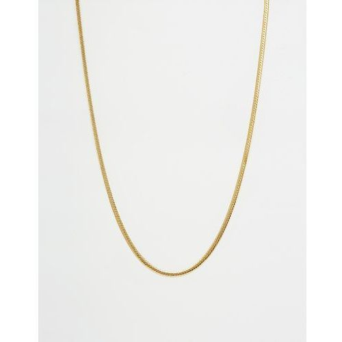 Mister chain necklace - gold