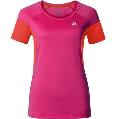 ODLO koszulka Versilia T-shirt s/s beetroot purple - cherry tomato S (7613273889734)