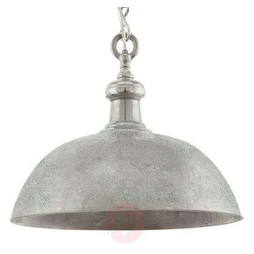Lampa wisząca easington 49181 metalowa oprawa zwis ip20 kopuła chrom marki Eglo