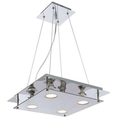 Rabalux Lampa wisząca naomi 2648 kwadratowa oprawa zwis przydymiony chrom (5998250326481)