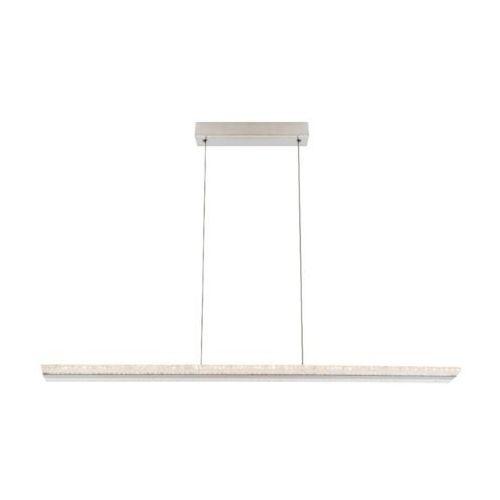 Globo lighting Globo klaus lampa wisząca led nikiel matowy, 1-punktowy - nowoczesny/design - obszar wewnętrzny - klaus - czas dostawy: od 6-10 dni roboczych (9007371342419)