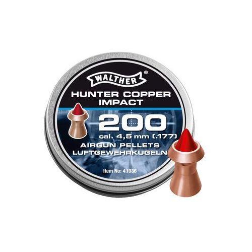 Walther Śrut diabolo hunter copper impact 4,5 mm 200 szt. (4000844462640)