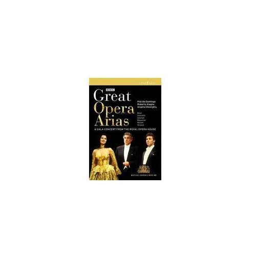 Opus arte Great opera arias - gala concert from the royal opera house, covent garden, 1996 (0809478031093)