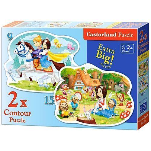 1-020041 Puzzle Królewna Śnieżka i siedmiu krasnoludków - PUZZLE DLA DZIECI
