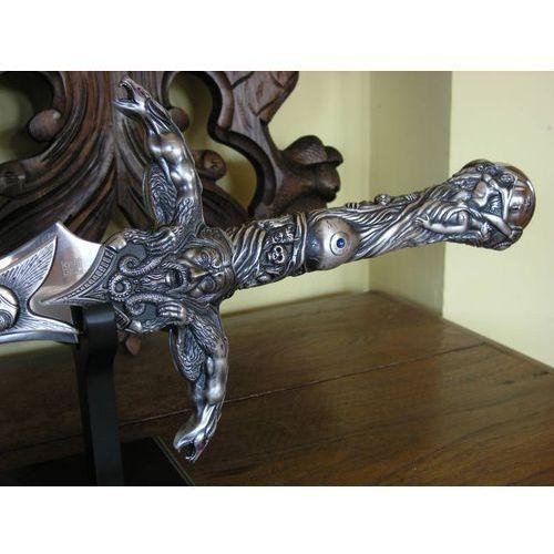 Zadziwiający potężny i tajemniczy miecz merlina z legend arturiańskich (770) marki Płatnerze hiszpańscy