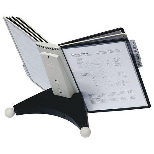 Durable Stojak modułowy sherpa, na 10 przezroczystych tablic, poliamid. stojak z poliami