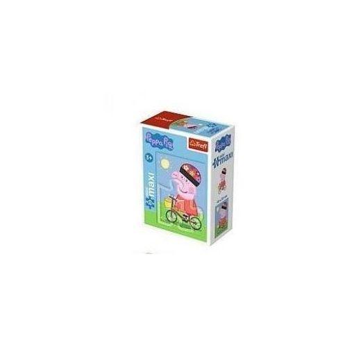 Puzzle 20 minimaxi - zabawy świnki peppy 2 marki Trefl