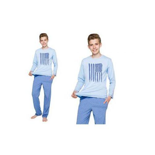 Piżama dziecięca karol: niebieski marki Taro
