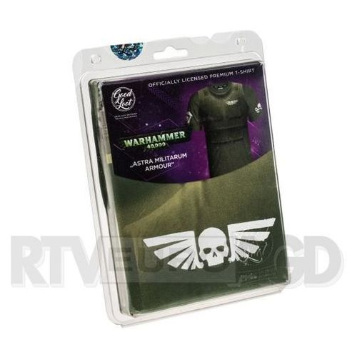 Good Loot Koszulka WH40K - Astra Militarum Armour - rozmiar M - produkt w magazynie - szybka wysyłka! (5908305213994)