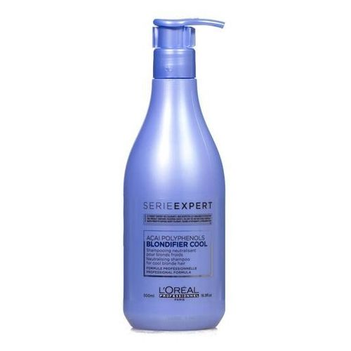L'oreal Loreal blondifier cool szampon chłodny blond 500ml (3474636628902)